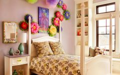 DIY Creative and Colorful Wall Decor for Kids Bedroom