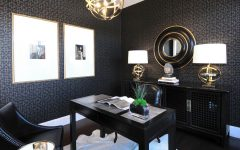 Decorate Home Office in Asian Gothic Style