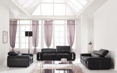 Deluxe Black White Living Room Decor