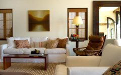 Deluxe Living Room in Elegant Japanese Nuance