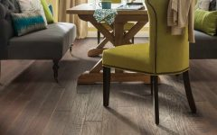 Dining Room Featuring Sequoia Hickory by Shaw Floors