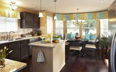 Dining Room and Kitchen Cozy Color and Theme