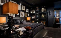 Dramatic Gothic Bedroom in Full Black