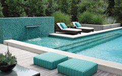 Elegant Green Swimming Pool Design Ideas
