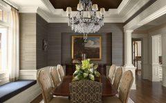 Elegant Luxury Dining Room Decoration Ideas