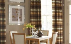 Simple Dining Room Curtain Ideas for Family Event
