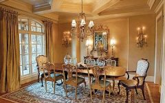 European Dining Room Classy and Comfortable