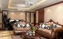 European Living Room with Classic Sofa