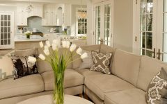 European Living Room With Elegant Sofa 2014