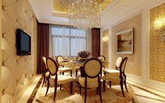 European Luxury Dining Room Ideas