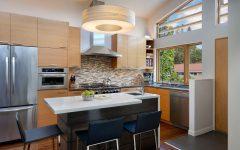 Fashionable American Kitchen for Small Interior