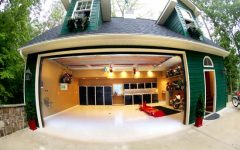 Front View Modern Garage Design Ideas