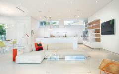 Futuristic Living Room With Stylish Design
