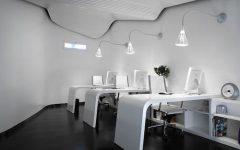 Futuristic Modern Office Interior Design Space