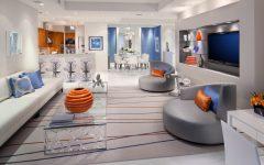 Futuristic Open Space House Interior