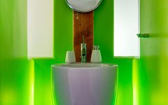 Futuristic Powder Room Design Ideas