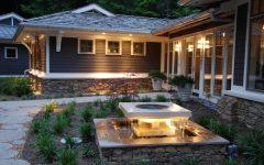Garden With Pond Lighting Ideas