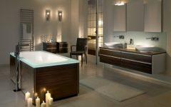 Glamour Wooden Bathroom Design Ideas