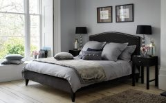 Gothic Bedroom in Grey Color
