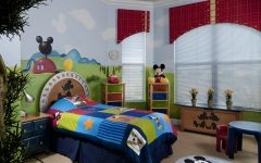 Kid Bedroom Mickey Mouse Interior Theme
