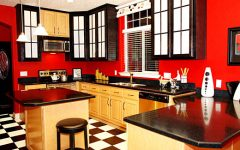 Kitchen Colors for 2012 Color Red