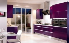 Kitchen Colors for 2012 in Purple Color