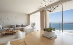 Light Filled Coastal Living Room by the Sea