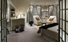 Luxurious Master Victorian Bedroom With Lounge Area