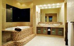 Color Decorative Mosaic Bathroom Interior