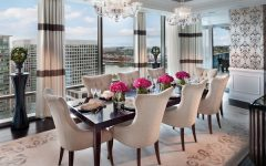 Luxury Dining Room for Modern Apartment