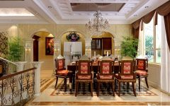 Luxury Dining Room in Classic Design