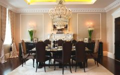 Luxury Dining Room in London Apartments