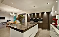 Luxury European Kitchen and Dining Room Combo