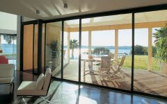 Luxury Glass Door Aluminium Frame