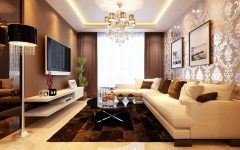 Luxury Japanese Living Room Furniture With TV