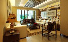 Luxury Japanse Ethnic Living Room