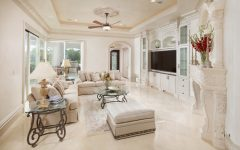 Luxury Mediterranean Family Room Theme