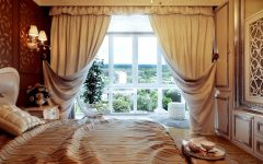 Luxury Wool Fabric Curtains Pattern