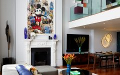 Mickey Mouse Theme Living Room Interior