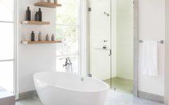 Minimalist Bathroom Decoration in Elegant Nuance