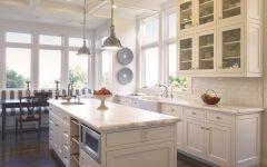 Minimalist European Kitchen with White Cabinet
