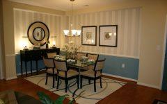 Minimalist Luxury Dining Room Interior