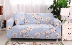 Minimalist Modern All Inclusive Elastic Sofa Cover Floral Printed