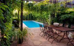 Minimalist Pool Beautiful Decorate Garden