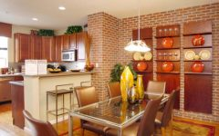 Modern Bricks in the Dining Room