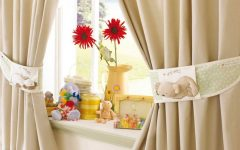 Modern Curtain With Cute Motive