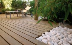 Modern Garden Wood Floor Ideas