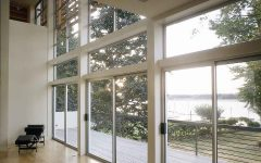 Modern Glass Patio Door