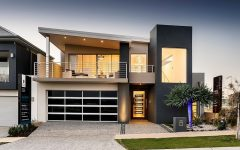 Attractive Garage Design for Modern House Exterior