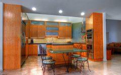 Modern Kitchen 2012 Colors Design in Orange